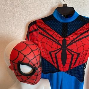 spider man costume and mask